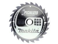 Makita B-09167 165mm x 20mm x 24T Specialized Circular Saw Blade