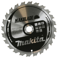 Makita B-09064 250mm x 30mm x 72T Makblade Mitre Saw Blade from Duotool.
