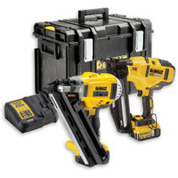 DeWalt DCK264P2 18v XR 1st Fix Nailer 2nd Fix Nailer 2 x 5.0Ah Li-ion Kit Box | Duotool