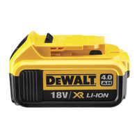 DeWalt Battery DCB182 18v XR Slide 4.0Ah Li-Ion from Duotool.