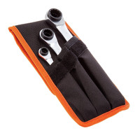 Bahco Reversible Ratchet Spanner set 3 Piece from Duotool