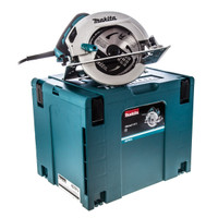 Makita HS7601J Circular Saw 190mm with MakPac Carry Case 110v from Duotool.