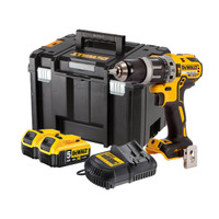 DeWalt DCD796N Combi Drill with 2 x 5Ah Batteries,18V Li-Ion XR Charger & Case from Duotool.