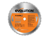 Evolution RAGE2 355mm Replacement Multi Purpose TCT Blade | Duotool