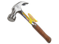 Estwing E20C Curved Claw Hammer - Leather Grip 560g (20oz)