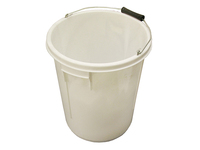 Faithfull 5 Gallon 25 litre Bucket - White