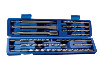 Faithfull SDS Plus Drill Set & Steel Set
