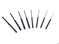 Faithfull Long Series Pin Punch Set of 8