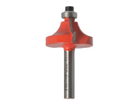 Faithfull Router Bit TCT Ovolo 16.5mm 1/4in Shank| Duotool