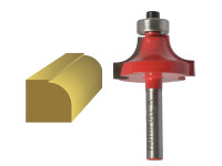 Faithfull Router Bit TCT Rounding Over 1/4in Shank 15.8mm x 9.5mm| Duotool