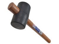 Faithfull Rubber Mallet - Black 680g (24oz)
