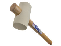 Faithfull Rubber Mallet - White 567g (20oz)