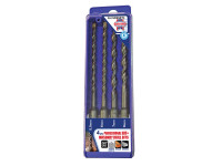 Faithfull SDS Plus Drill Bit Set 4 Piece 5.5-8mm| Duotool