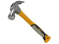 Roughneck Claw Hammer Fibreglass Shaft 567g (20oz)| Duotool