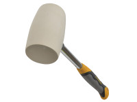 Roughneck Non Marking White Rubber Mallet 680g (24oz)