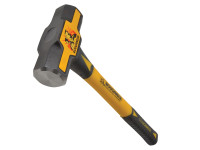 Roughneck Sledge Hammer Fibreglass Handle 2.7kg (6lb)| Duotool