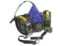 Scan Twin Half Mask Respirator + A1 Refills