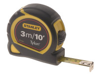 Stanley Tools Pocket Tape 3m / 10ft (Width 12.7mm) Carded