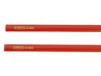 Stanley Tools Carpenters Pencils for Wood Pack of 2
