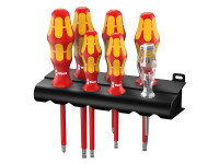 Wera Kraftform VDE Screwdriver Set of 7 SL / PZ