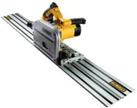 DeWalt DWS520KTL Heavy-Duty Plunge Saw with Guide Rail 1300 Watt 110 Volt