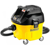 DeWalt DWV901L Wet & Dry Dust Extractor 30 Litre 1400 Watt 110 Volt from Duotool