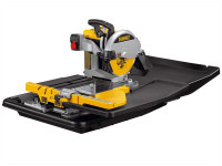 DeWalt D24000 Wet Tile Saw with Slide Table 1600 Watt 110 Volt from Duotool