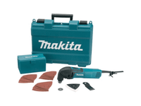 Makita TM3000CX3 110v Multi-Tool c/w 42 Acc from Duotool