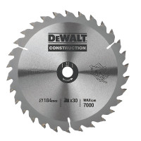 Dewalt Circular Saw Blade 184 x 16mm x 30T Series 30 General Purpose (DT1151