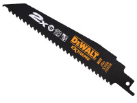 Dewalt 2X Life Wood & Nail Reciprocating Blades 228mm Pack of 5 (DT2307L From Duotool