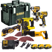 Dewalt 5 Piece Kit + 3X 5.0Amp Batteries