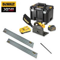 Dewalt DCS520T2 54V FlexVolt 6.0Ah Plunge Saw & Rails Kit from Duotool