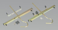 Sealey Ladder Roof Rack Clamps from Toolden