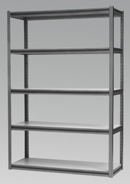 Sealey Racking Unit with 5 Shelves 600kg Capacity Per Level from Toolden