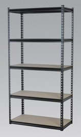 Sealey Racking Unit with 5 Shelves 340kg Capacity Per Level from Toolden