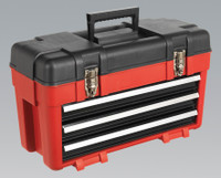 Sealey Toolbox 585mm 3 Drawer Portable from Toolden