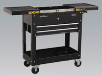 Sealey Mobile Tool & Parts Trolley - Black from Toolden