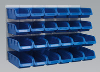 Sealey Bin & Panel Combination 24 Bins - Blue from Toolden