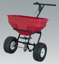 Sealey Broadcast Spreader 57kg Walk Behind from Toolden