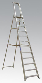 Sealey Aluminium Step Ladder 12-Tread Industrial BS 2037/1 from Toolden
