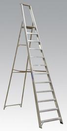 Sealey Aluminium Step Ladder 12-Tread Industrial BS 2037/1 from Toolden