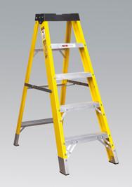 Sealey Fibreglass Step Ladder 4-Tread EN 131 from Toolden