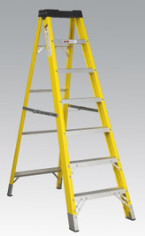 Sealey Fibreglass Step Ladder 6-Tread EN 131 from Toolden