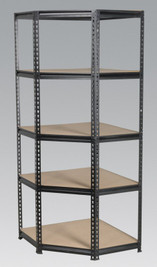 Sealey Corner Racking Unit 5 Level 150kg Capacity Per Level from Toolden