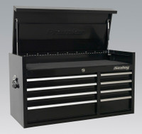 Sealey Topchest 8 Drawer 1040mm Heavy-Duty Black from Toolden