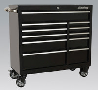 Sealey Rollcab 11 Drawer 1055mm Heavy-Duty Black from Toolden