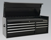Sealey Topchest 7 Drawer 1410mm Heavy-Duty Black from Toolden