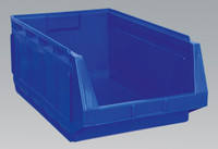 Sealey Stackable Storage Bin 370 x 580 x 250mm - Blue Pack of 4 from Toolden
