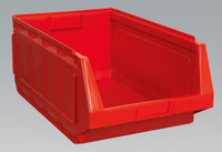 Sealey Stackable Storage Bin 370 x 580 x 250mm - Red Pack of 4 from Toolden