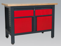 Sealey Workstation with 2 Drawers & 2 Cupboards from Toolden